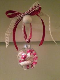 L& K wedding ornament