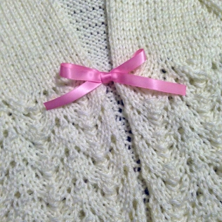 Sweater for Evie - close up